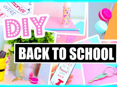 DIY Back To School Ideas & Supplies! Paper Towns, Minions & More!