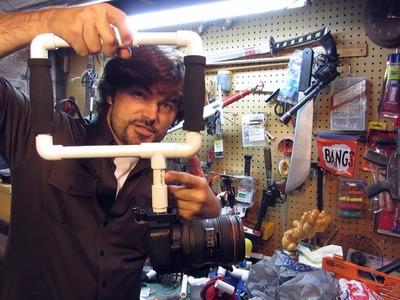 DIY Camera Rig Prototypes PVC - Quick FX