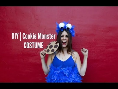 DIY | Cookie Monster Costume