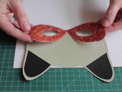 DIY crafts: Masquerade mask by Søstrene Grene