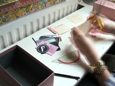 DIY - Designer Business Card Box