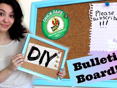 DIY Frame Bulletin Board! (Upcycled Craft)