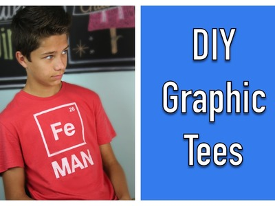 DIY Graphic Tees \ ShowMeCute