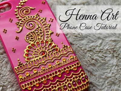 DIY Henna Art Phone Case | Hennafly