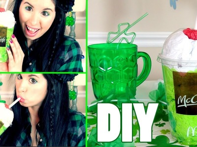 DIY McDonald's Shamrock Shake Room Decoration!