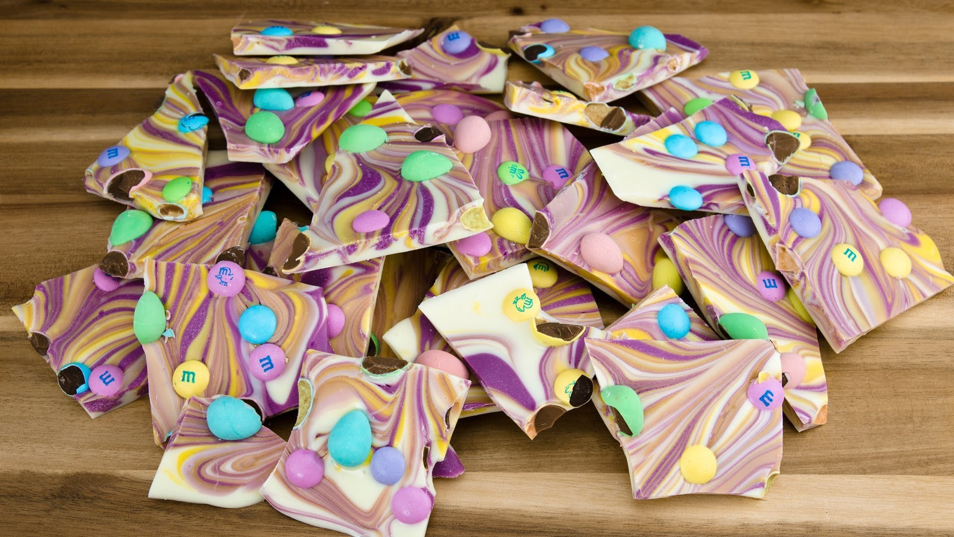 Easter Chocolate Bark by  Cookies Cupcakes and Cardio
