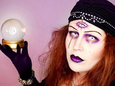 Fortune Teller Halloween Makeup