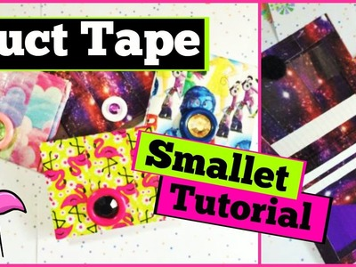 How to: DIY Duct Tape Smallet! Easy Beginners Tutorial!