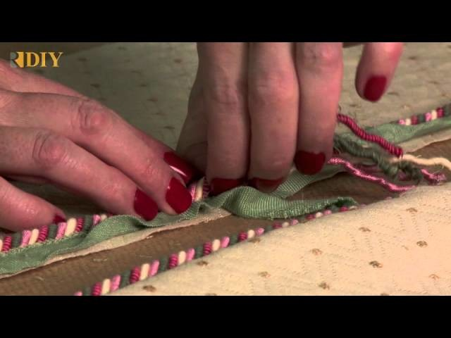 How-To Join Together Decorative Twist Cord
