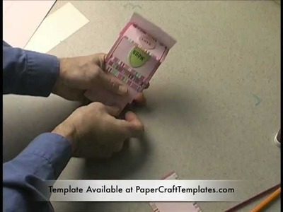 How to Make a Flip Card or Waterfall Card the Quick and Easy Way