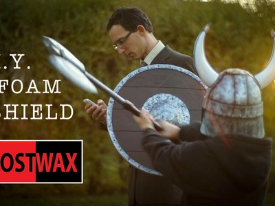 How to make a Viking Shield Costume  Tutorial