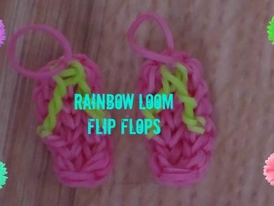 How to make rainbow loom flip flops