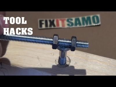 How To Remove A Screw, Bolt Without any Tools - Tool Hacks