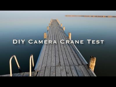 JBPhotography DIY Crane. Jib Test