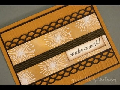 Make A Wish Sun kissed Autumn Card