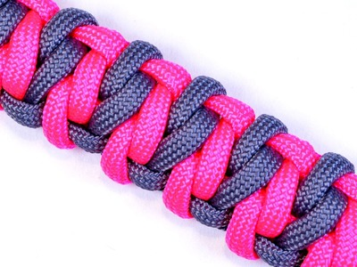 "Make the ""Fiasco"" Design Paracord Survival Bracelet - BoredParacord.com"