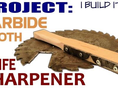 Making A Knife Sharpener