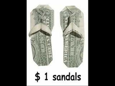Origami Money Folds - Part 1 (slideshow)