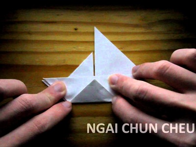 Origami Paper Sailboat (Tutorial)