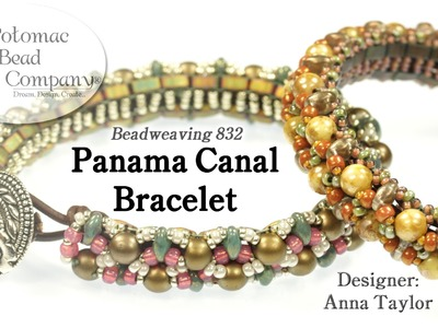 """"""" Panama Canal """" Bracelet (Part 1)"""