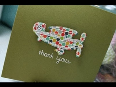 Stampin' On Friday #25 Thank You