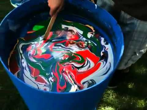Swirl Painting: Epiphone SG Special