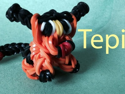 Tepig Pokemon - Rainbow Loom Charms
