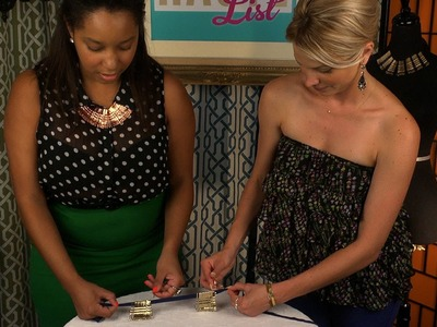 The Haute List Bonus: DIY Bobby Pin Necklace