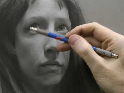 Time-lapse Portrait Drawing Demonstration by David Jamieson #1