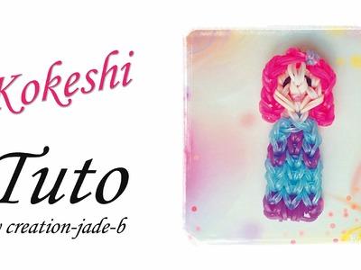 Tuto Rainbow Loom - Kokeshi !