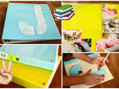 Back to School DIY: Personalized Folders