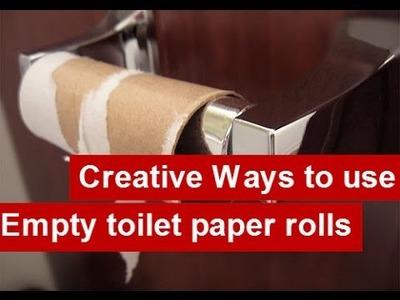 Creative Ways to use Empty Toilet Paper Rolls