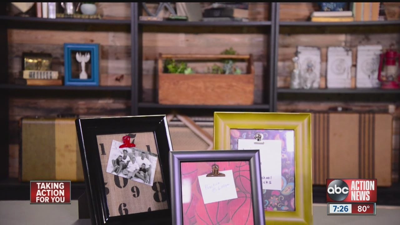 DIVA OF DIY: Picture Frame Memo Boards