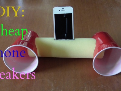 DIY: Cheap Phone Speakers That Don't Use Electricity