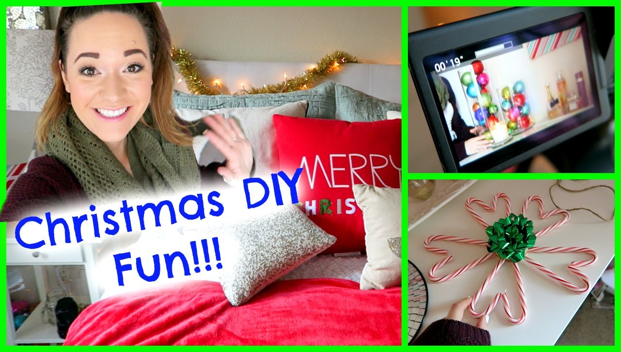 DIY CHRISTMAS DECOR FILMING + MAGICALNESS!!!