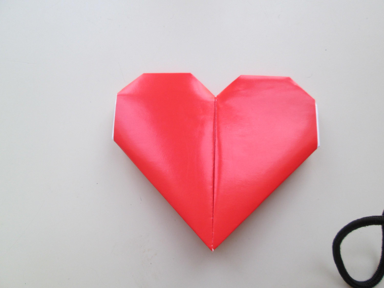 DIY ~ Comment faire un cœur avec du papier coloré