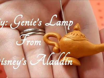 DIY: Genie's Lamp charm From Disney's Aladdin ( Disney Series: Part 3)
