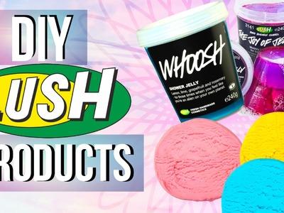 DIY Lush Products | DIY Lush Shower Jellies + Lush Fun Soap | JENerationDIY