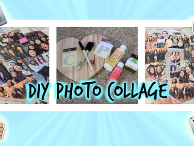 DIY Photo Collage⎜Perfect Gift For a Friend