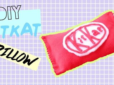 DIY Room Decor • KitKat Pillow