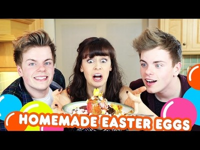 Homemade DIY Easter Eggs with NikiNSammy