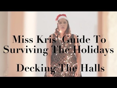 {Miss Kris} DIY Light Wreath + Decorating For The Holidays