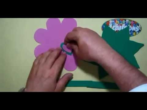 Paper basket making _ Kids Activities_ Handmade