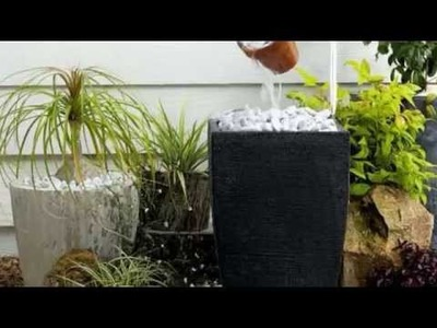 23 Astonishing DIY Garden Fountain