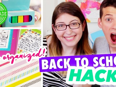 8 Back to School Hacks to Keep You Organized! - All Request August - @HGTVHandmade