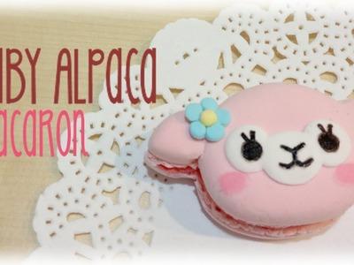 Baby Alpaca Macaron Clay Tutorial