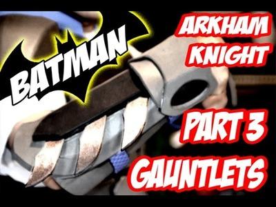 Batman Arkham Knight Armor How to DiY Costume Cosplay Part 3