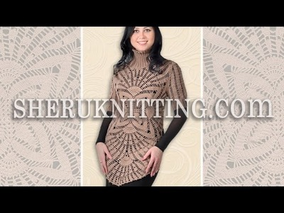 Crochet Tunic Pattern Model 15