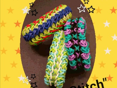 """Curl Stitch"" Rainbow Loom Bracelet.How To"