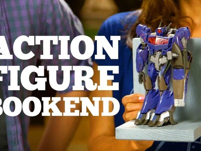 DIY - Action Figure Bookends   DweebCast   OraTV